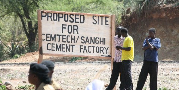 Indian cement firm to build West Pokot plant next year - Ministry of