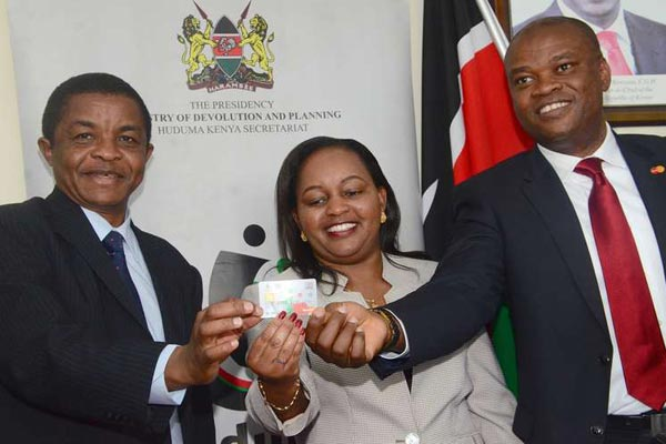 Kenyans to Use New Smart Card to Pay for State Services